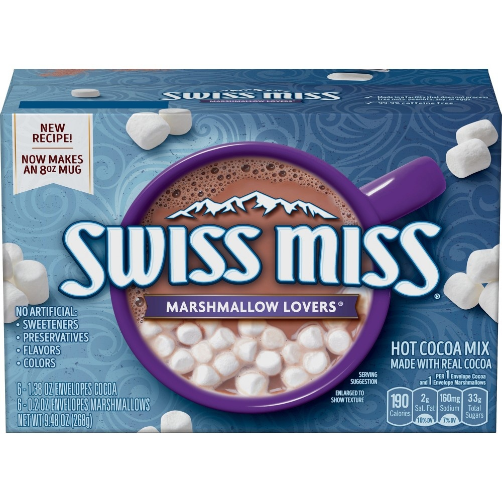 slide 2 of 7, Swiss Miss Marshmallow Lovers Hot Cocoa Mix,