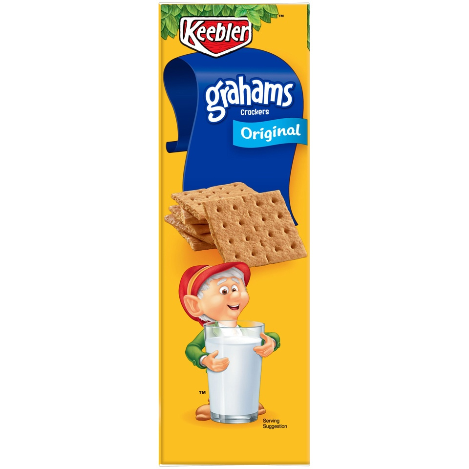 slide 2 of 4, Keebler Original Grahams Crackers,