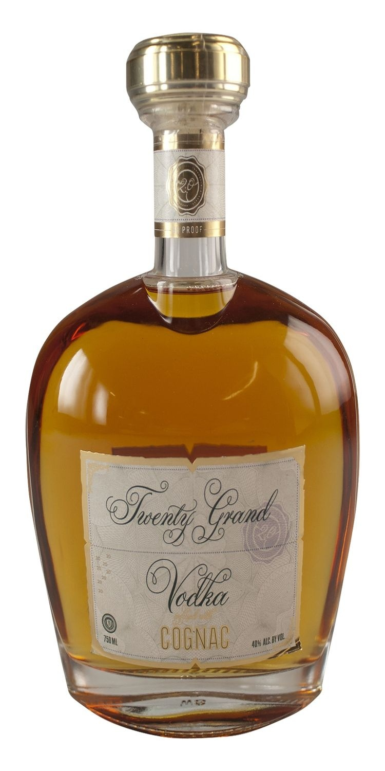 slide 1 of 1, Twenty Grand Vodka Cognac,