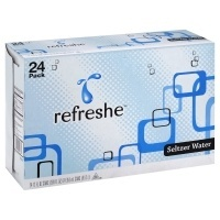 slide 1 of 1, Refreshe Seltzer Water,