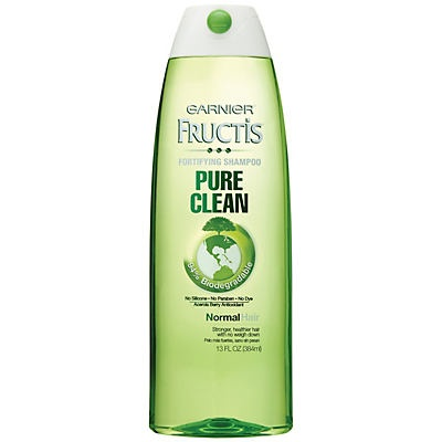 slide 1 of 1, Garnier Fructis Pure Clean Fortifying Shampoo,