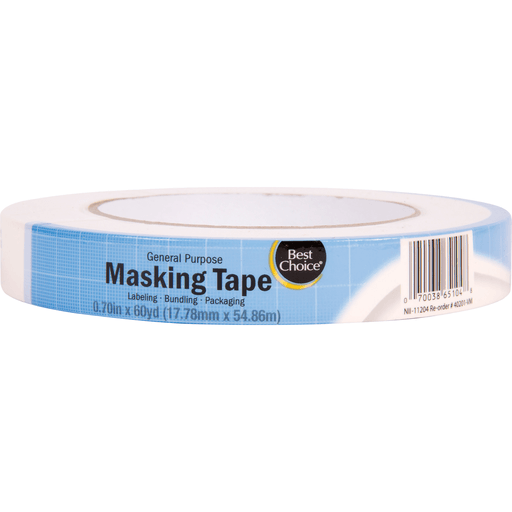 slide 1 of 1, Best Choice Mask Tape,