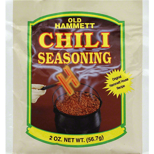 slide 1 of 1, Old Hammett Chili Seasoning,