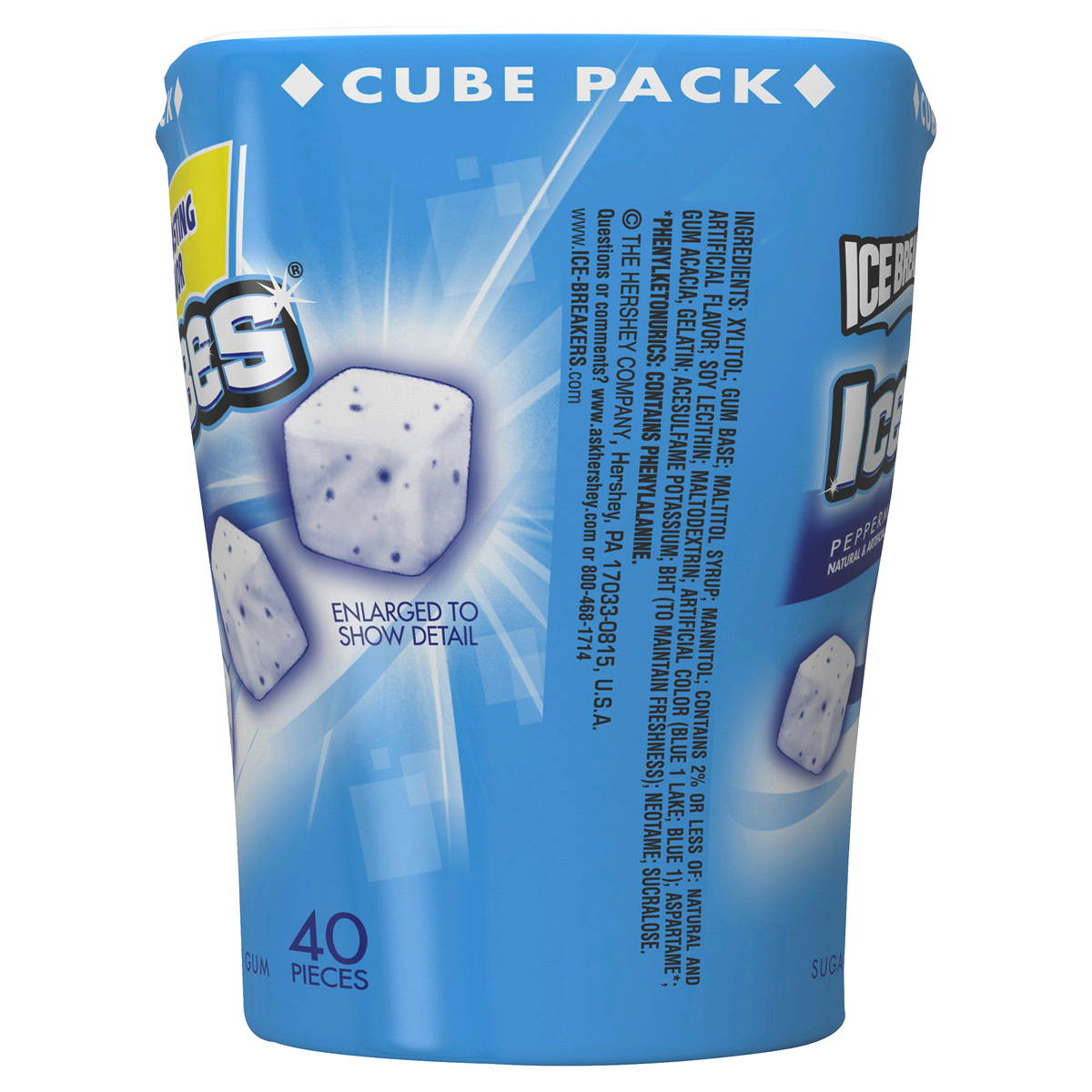 slide 4 of 4, Ice Breakers Ice Cubes Peppermint Sugar-Free Gum,