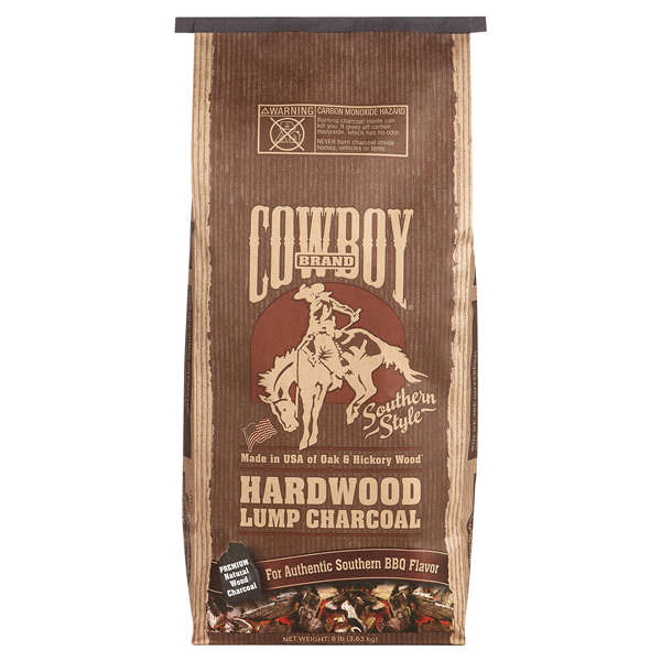 slide 1 of 1, Cowboy Charcoal Southern Style Hardwood Lump Charcoal,