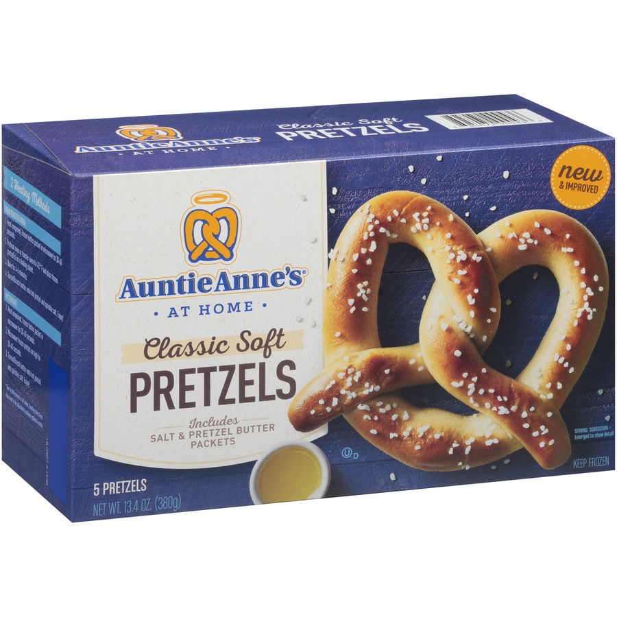 slide 2 of 8, Auntie Anne's Classic Soft Pretzels,