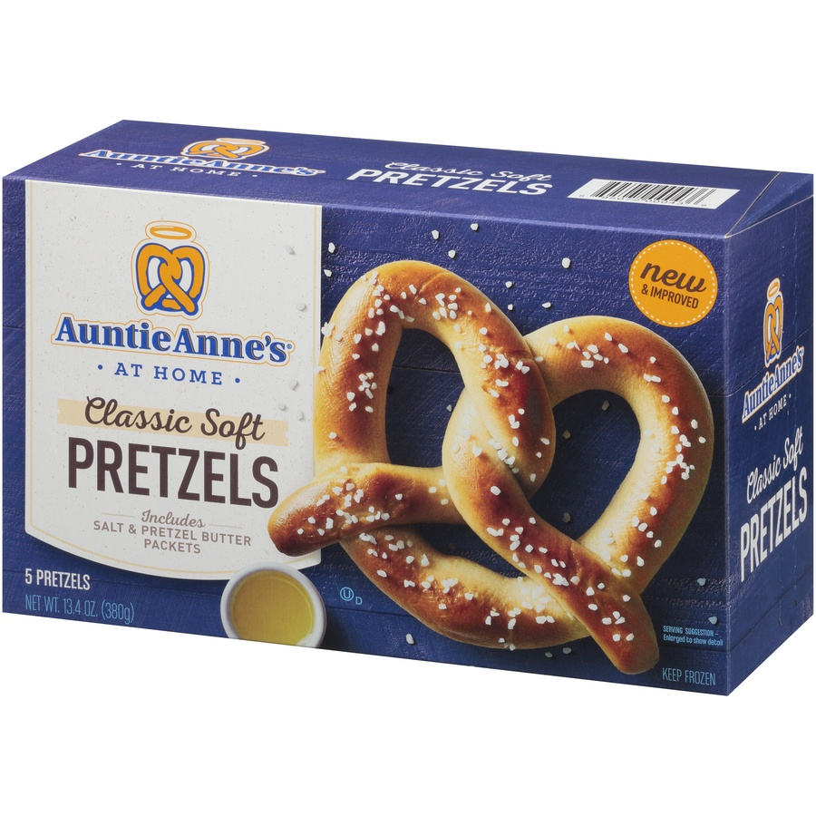 slide 3 of 8, Auntie Anne's Classic Soft Pretzels,