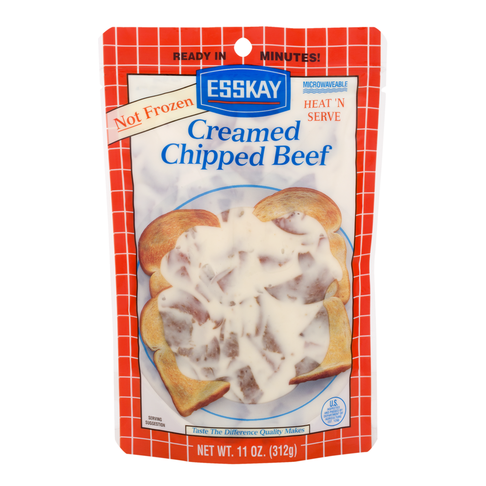slide 1 of 1, Esskay Creamed Chipped Beef,