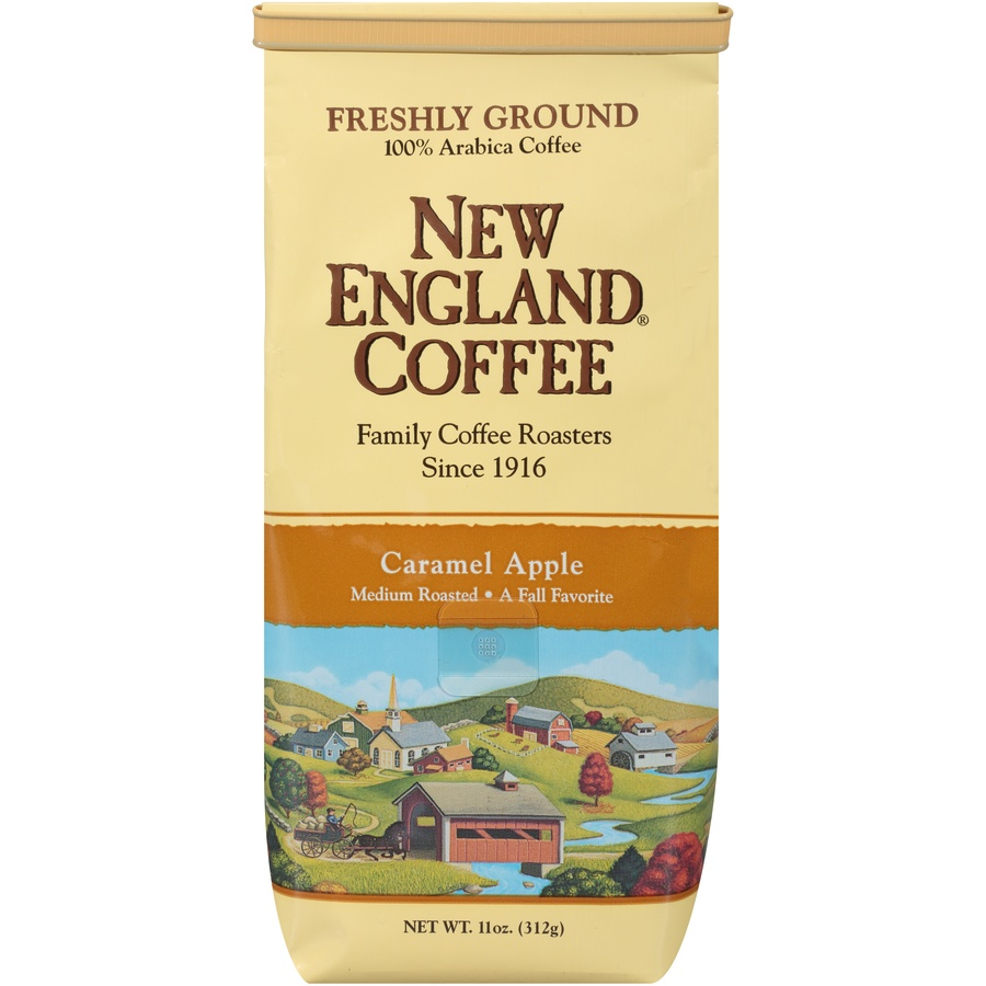 slide 1 of 7, New England Coffee New England Gound Coffee - Pumpkin Spice,