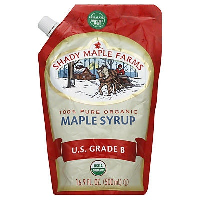 slide 1 of 2, Shady Maple Farms 100% Pure Maple Syrup,