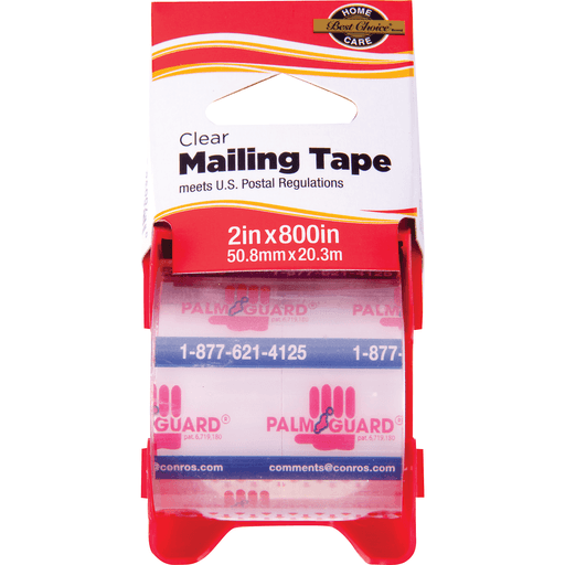 slide 1 of 1, Best Choice Clear Mailing Tape,
