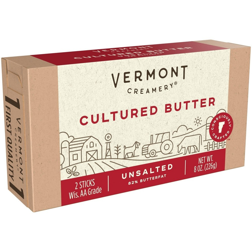 slide 7 of 9, Vermont Creamery Stick Butter Unsalted,