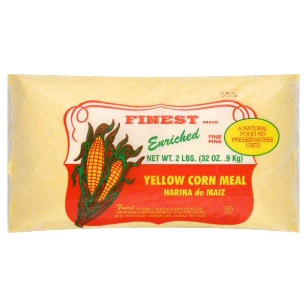 slide 1 of 1, Finest Yellow Corn Meal,