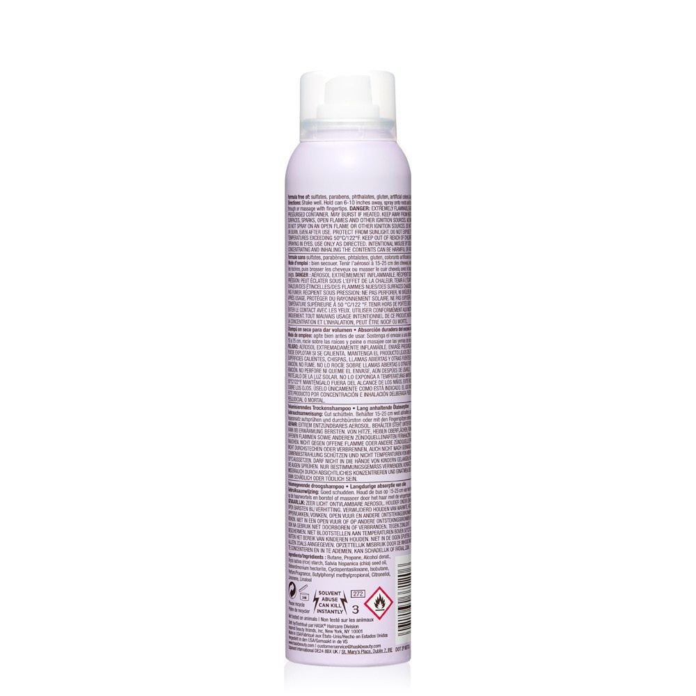 slide 2 of 4, Hask Sulfate-Free and Paraben-Free Chia Seed Volumizing Dry Shampoo,