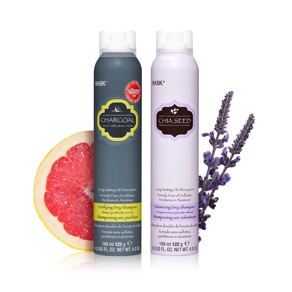slide 4 of 4, Hask Sulfate-Free and Paraben-Free Chia Seed Volumizing Dry Shampoo,