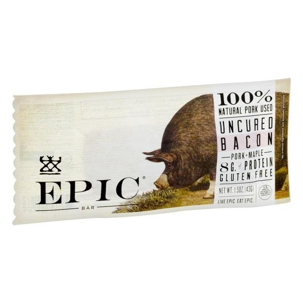slide 1 of 1, Epic Smoked Maple Bacon Bar,