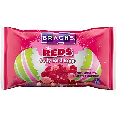 slide 1 of 1, Brach's All Reds Jelly Bird Eggs Easter Candy,
