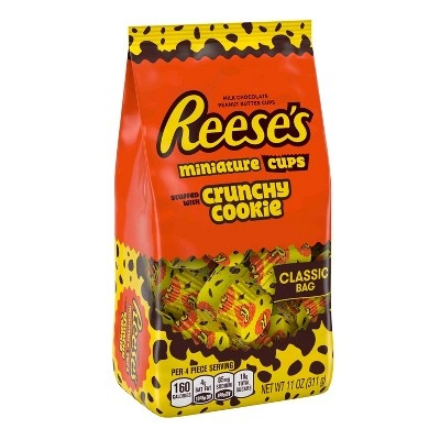 slide 1 of 3, Reese's Crunchy Cookie Cup Stand Up Pouch,