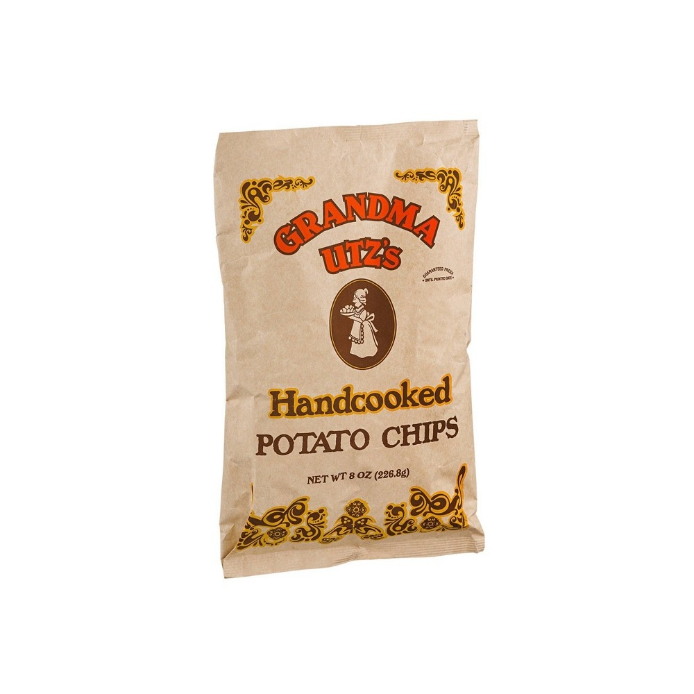 slide 2 of 3, Utz Grandma Handcooked Potato Chips,