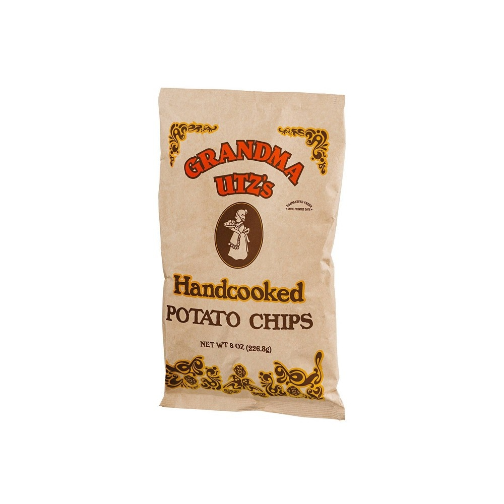 slide 3 of 3, Utz Grandma Handcooked Potato Chips,