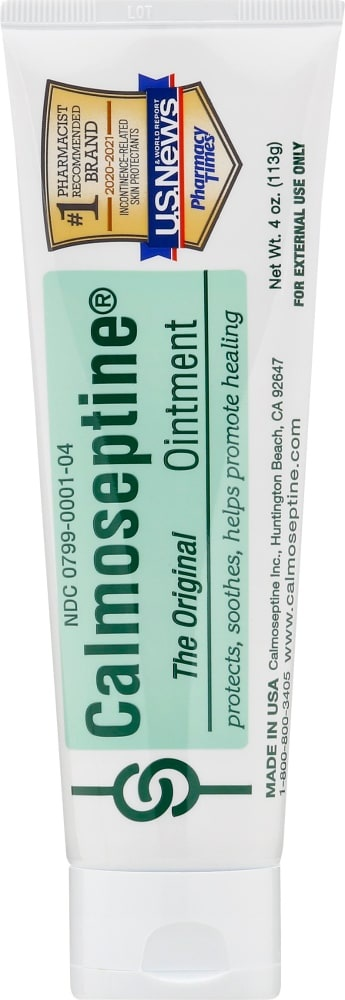 slide 1 of 1, Calmoseptine Ointment Tube,