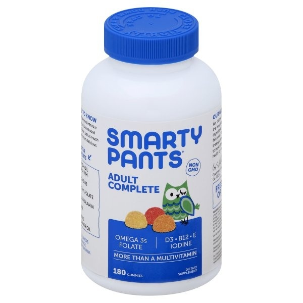 slide 1 of 1, Smartypants All-In-One Multivitamin Plus Omega 3 Plus Vitamin D,