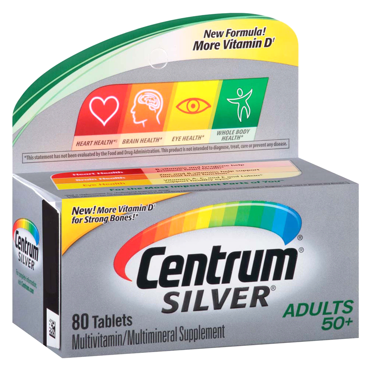 slide 2 of 4, Centrum Silver Adults Multivitamin,