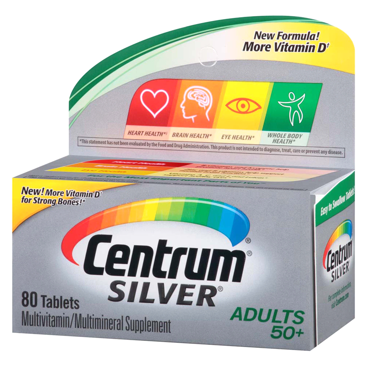 slide 4 of 4, Centrum Silver Adults Multivitamin,