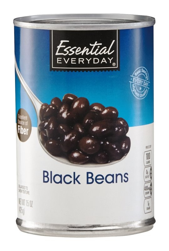 slide 1 of 1, Essential Everyday Black Beans,
