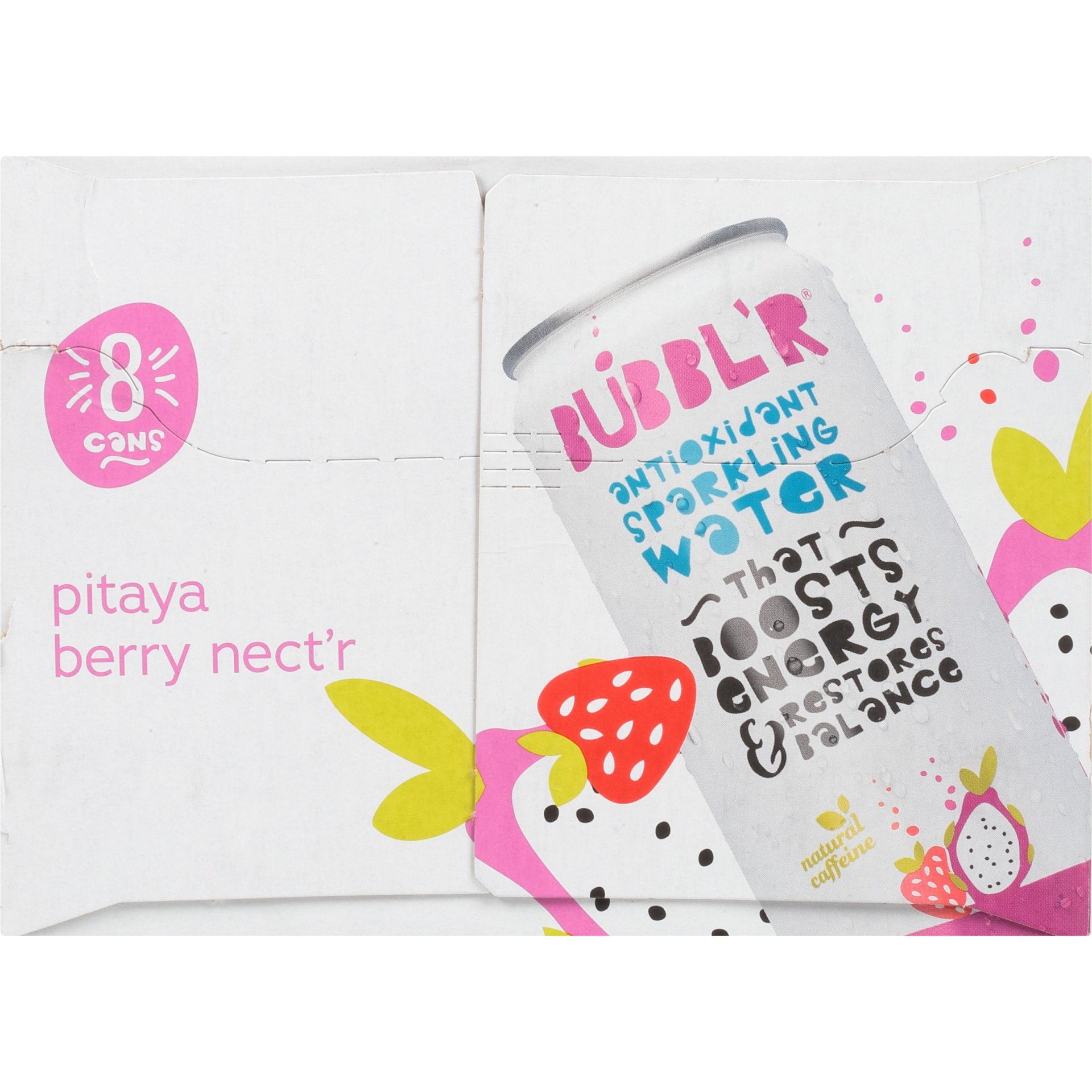 slide 2 of 6, BUBBL'R Pitaya Berry Nect'R,