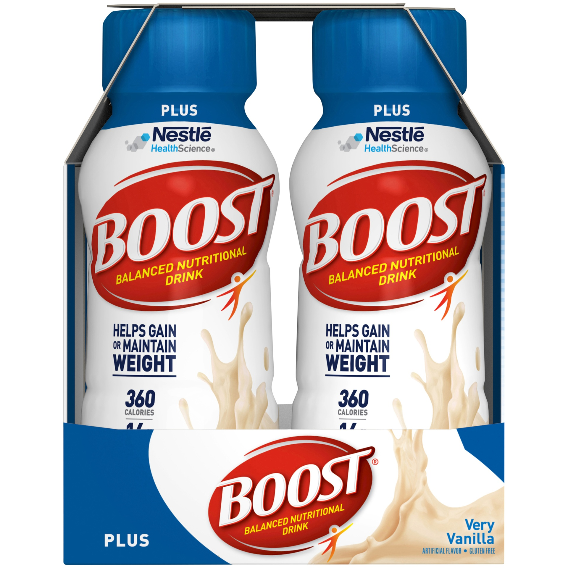 slide 5 of 9, Boost  Plus Complete Nutritional Drink - Vanilla,