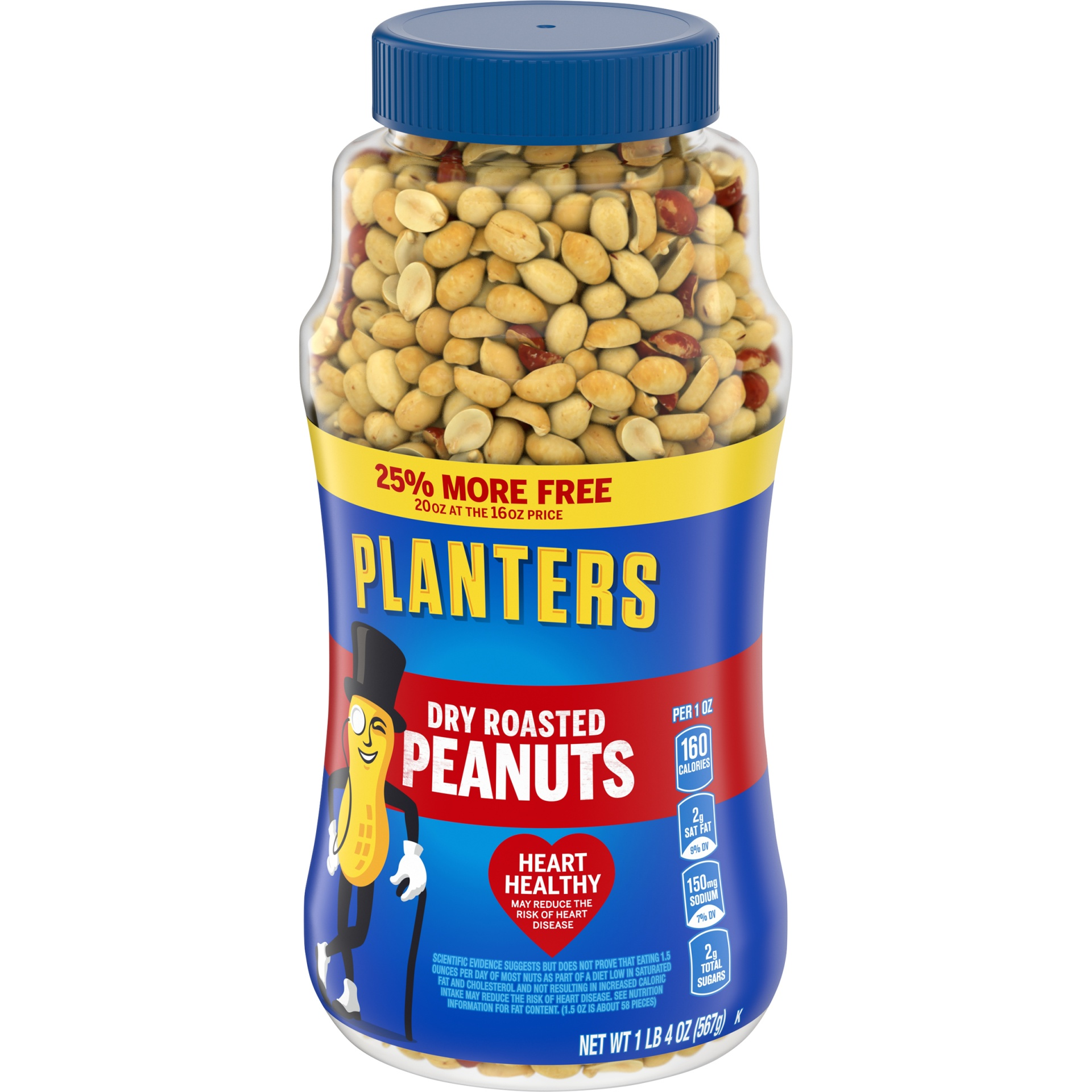 slide 4 of 7, Planters Dry Roasted Peanuts,