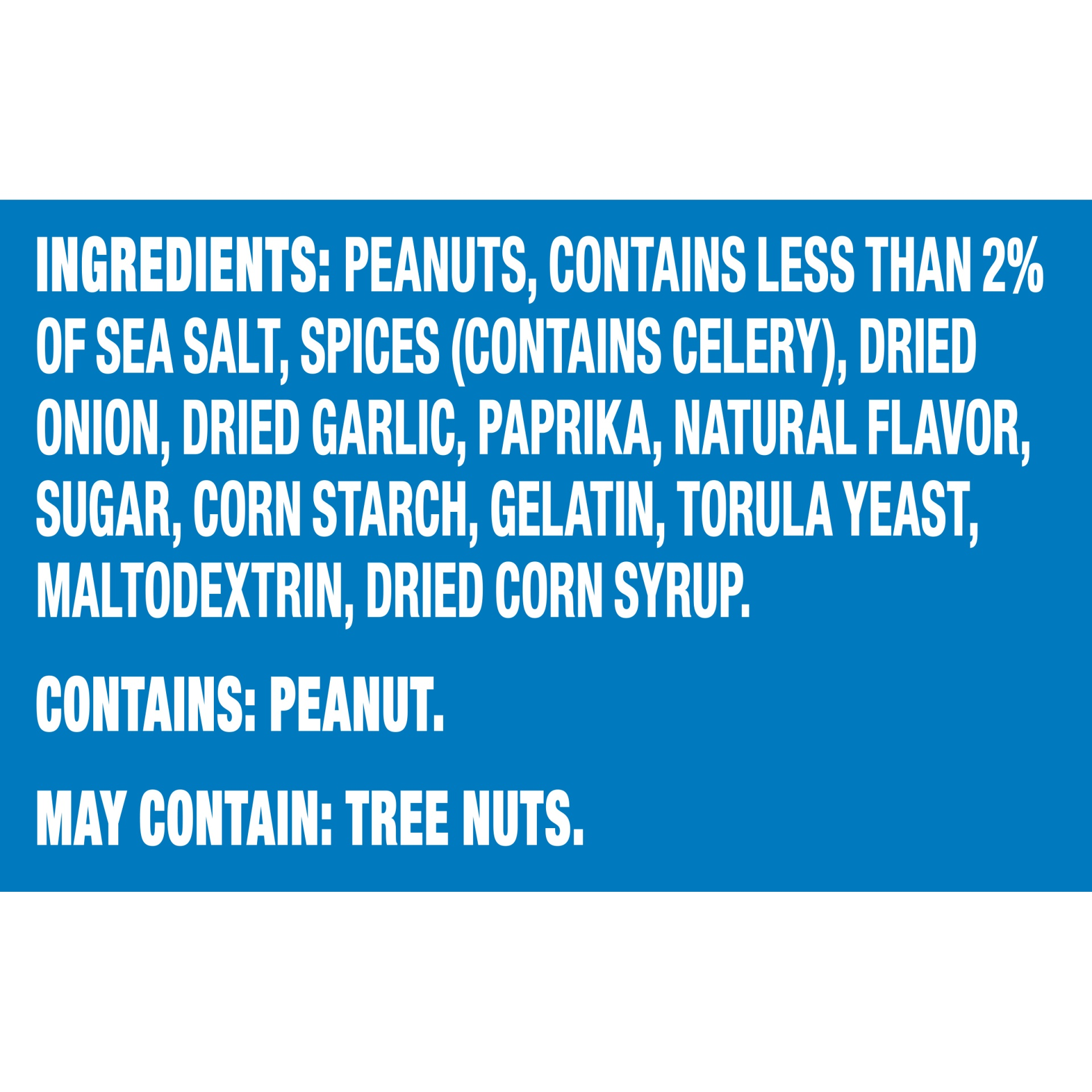 slide 7 of 7, Planters Dry Roasted Peanuts,