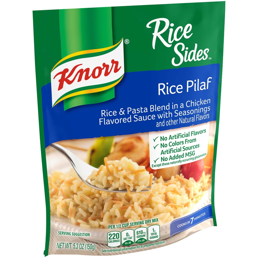 slide 2 of 5, Knorr Rice Sides Rice Pilaf Rice Side Dish,