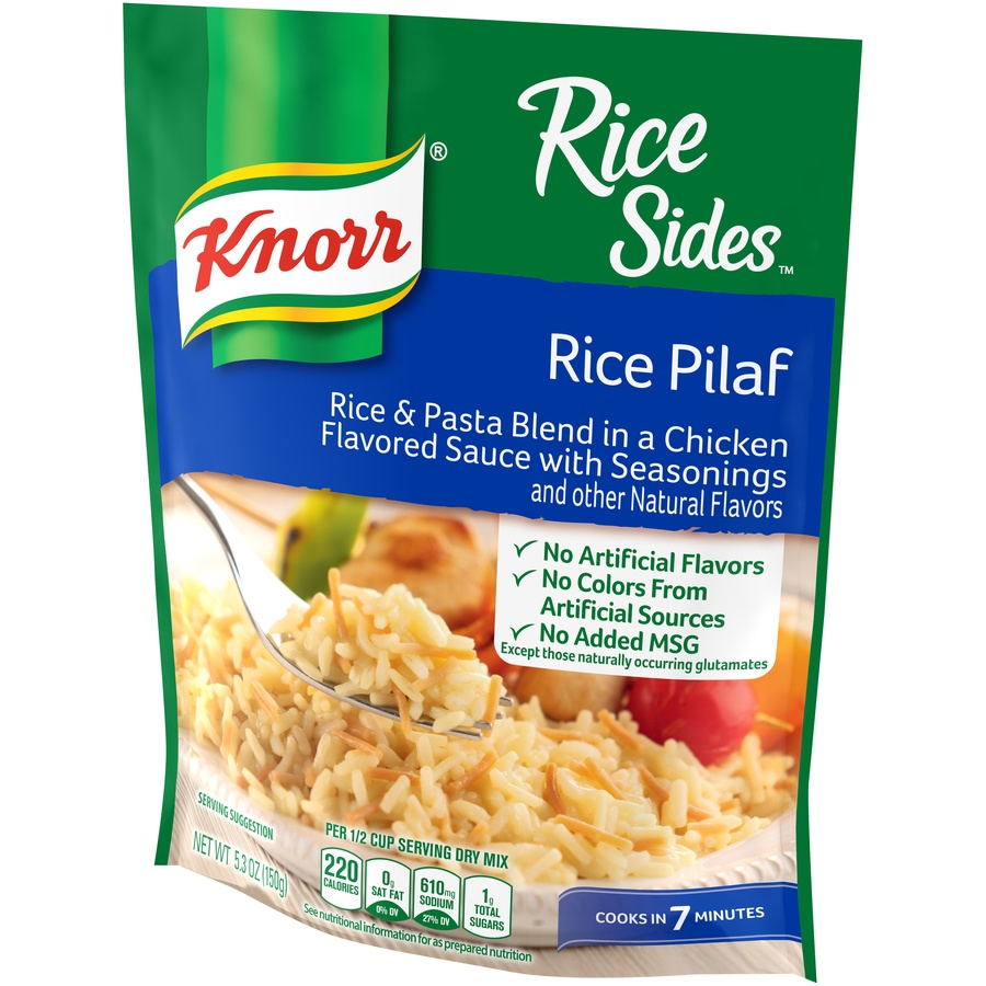 slide 3 of 5, Knorr Rice Sides Rice Pilaf Rice Side Dish,