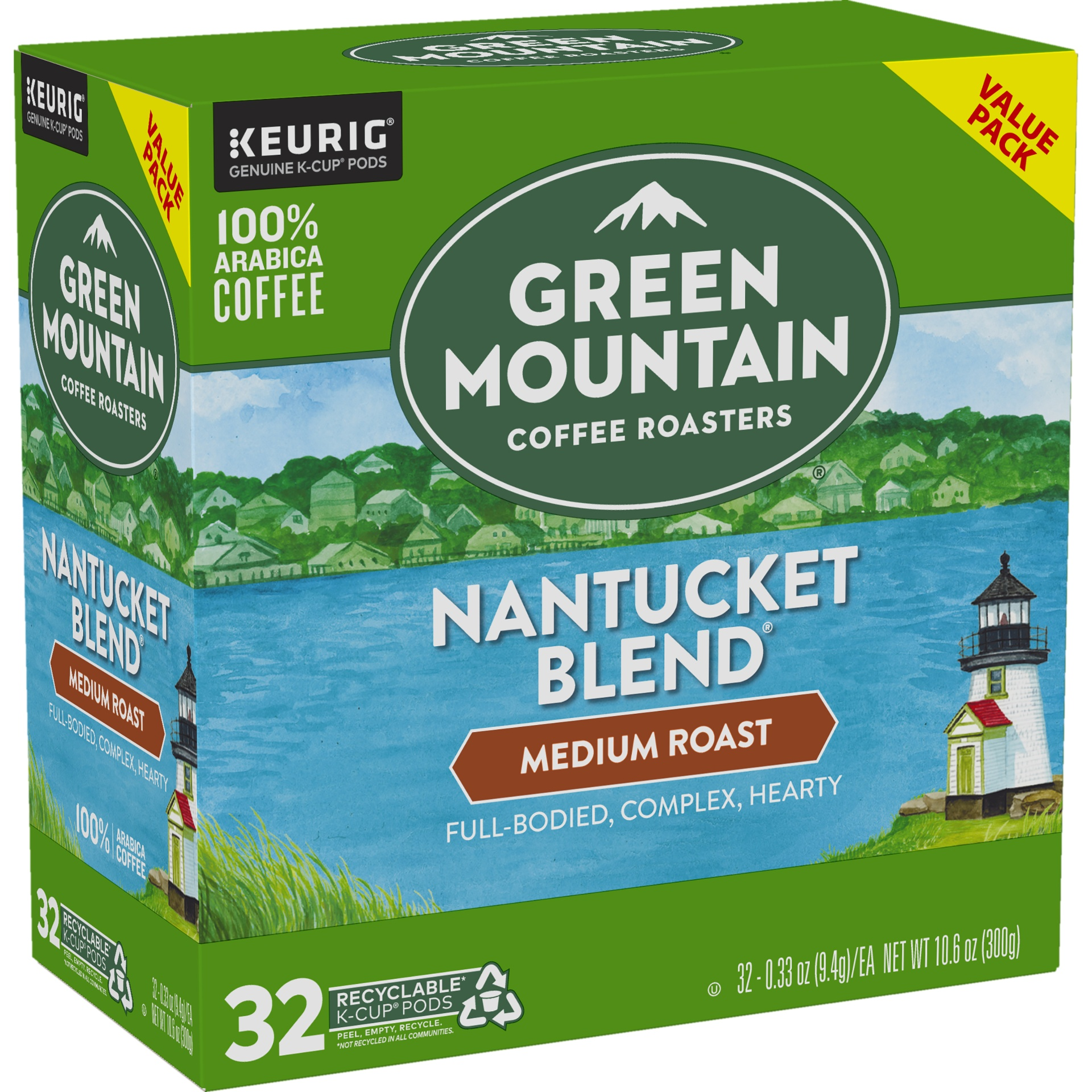 slide 2 of 4, Green Mountain Coffee Nantucket Blend Medium Roast K-Cup Pods,