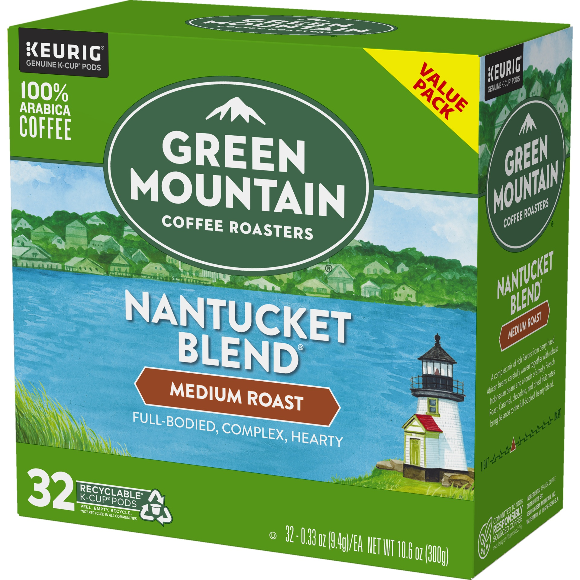 slide 3 of 4, Green Mountain Coffee Nantucket Blend Medium Roast K-Cup Pods,