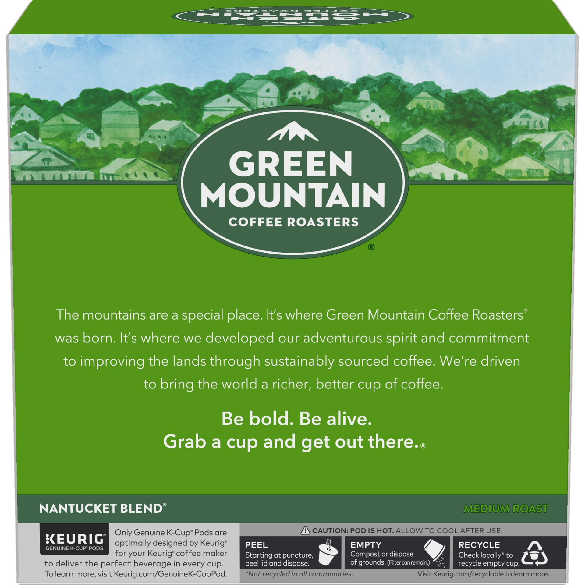 slide 4 of 4, Green Mountain Coffee Nantucket Blend Medium Roast K-Cup Pods,