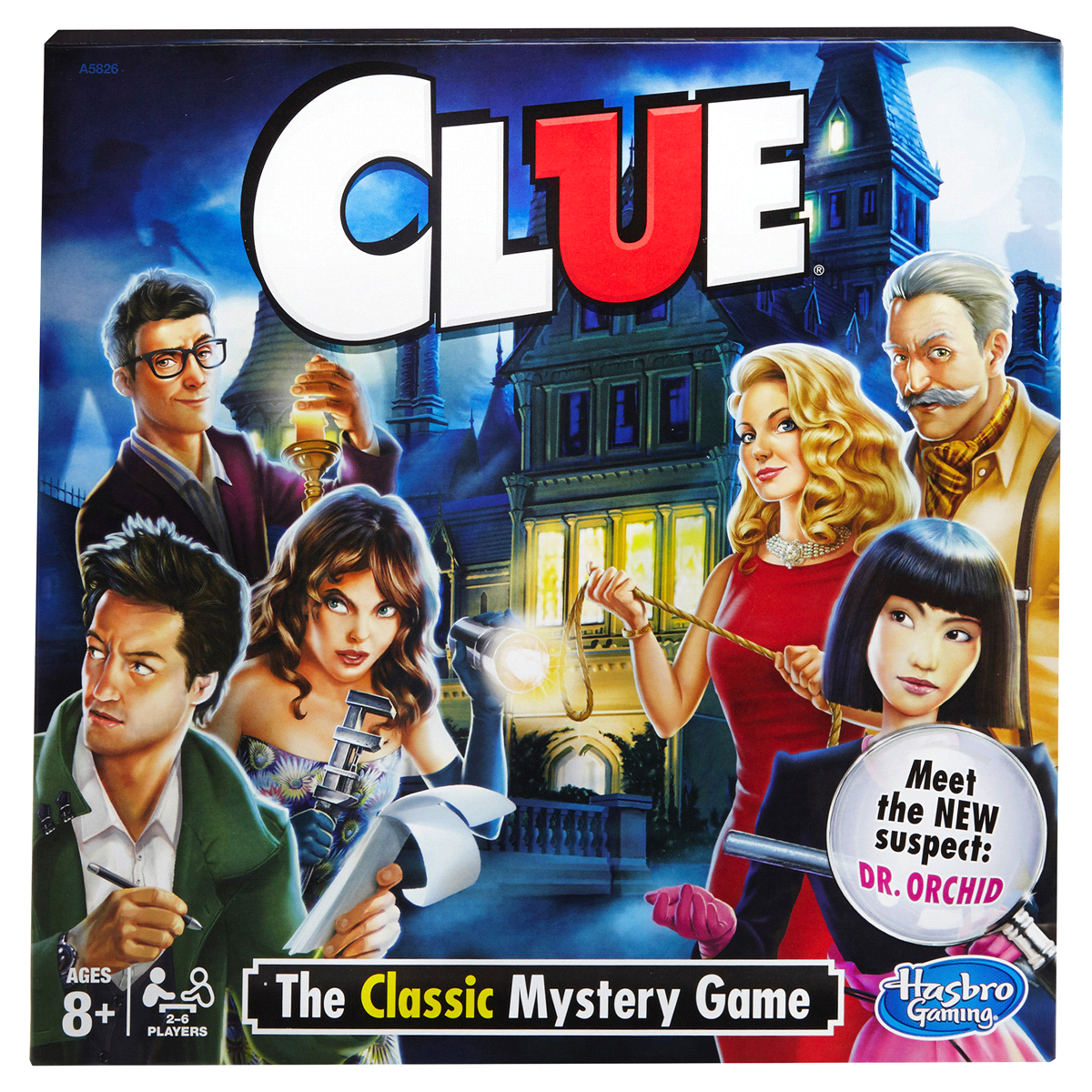 slide 2 of 3, Hasbro Clue (2013 Edition) Board Game,
