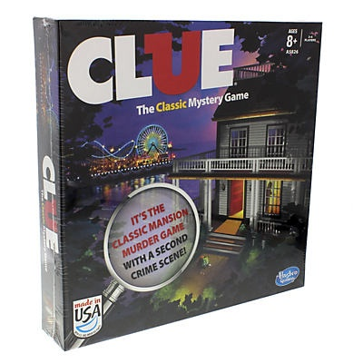 slide 1 of 3, Hasbro Clue (2013 Edition) Board Game,