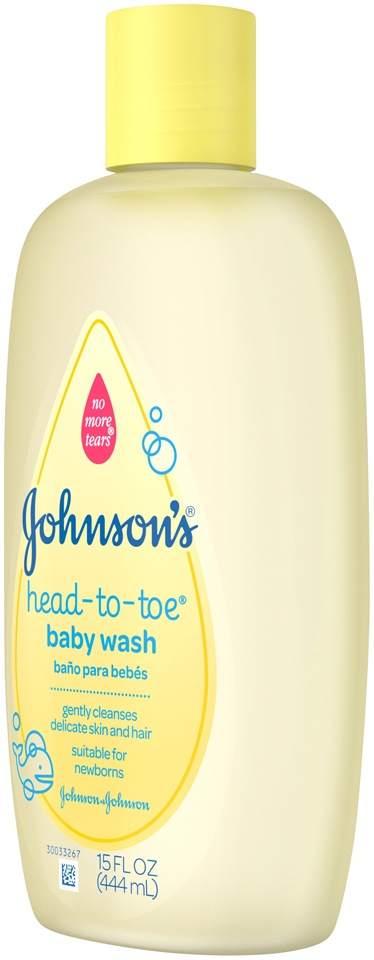 slide 3 of 6, Johnson's Baby Head-to-Toe Body Wash,