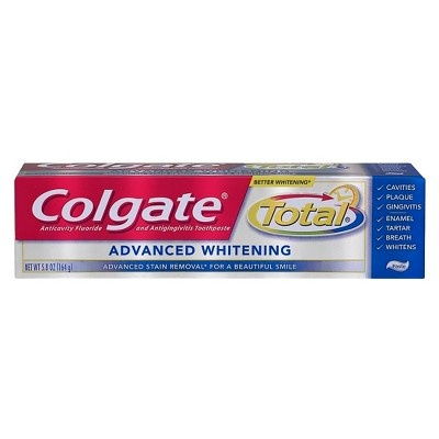 slide 1 of 3, Colgate Total Advanced Whitening Toothpaste,