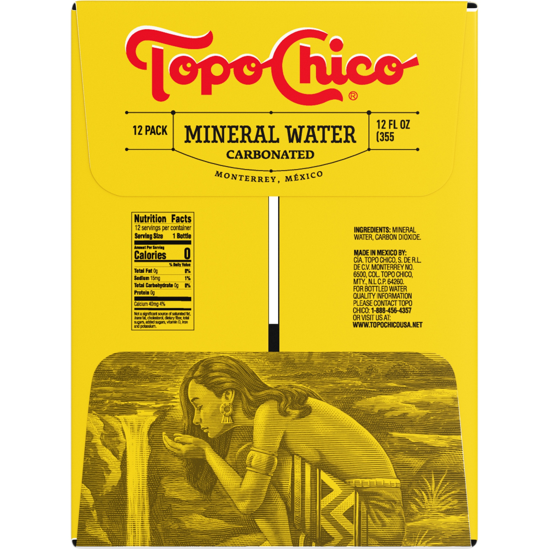 slide 4 of 7, Topo Chico Mineral Water,