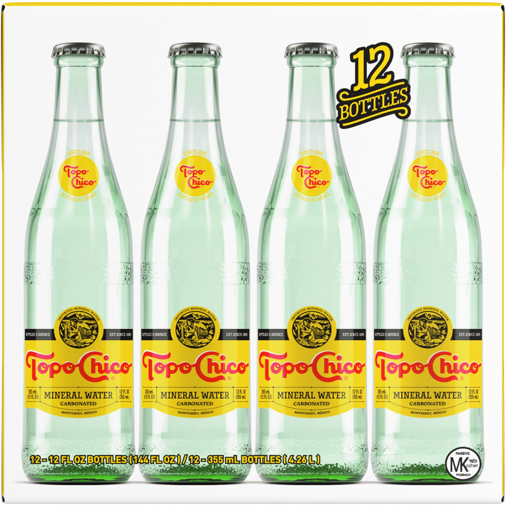 slide 1 of 7, Topo Chico Mineral Water,