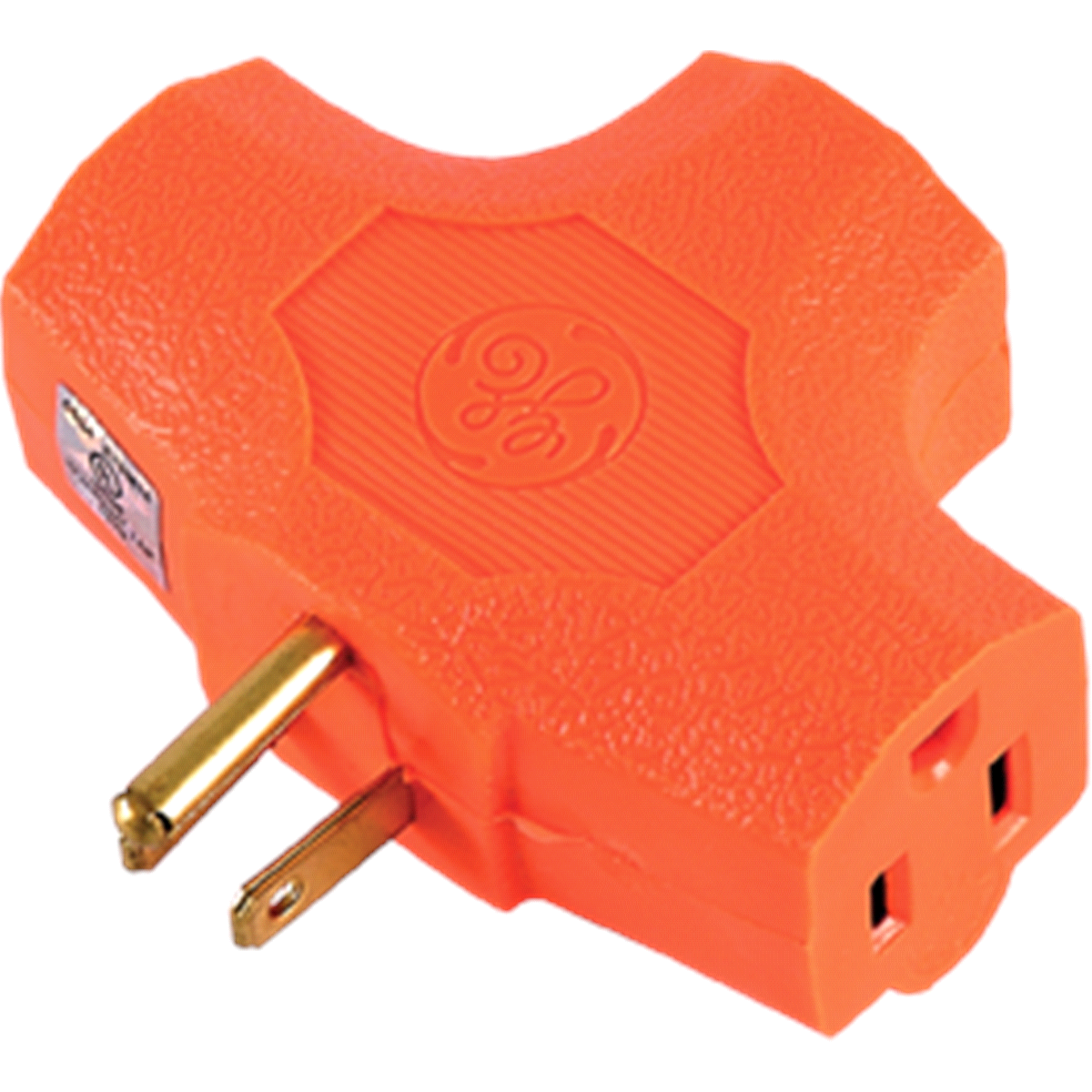 slide 2 of 3, GE Heavy Duty 3-Outlet Adapter,