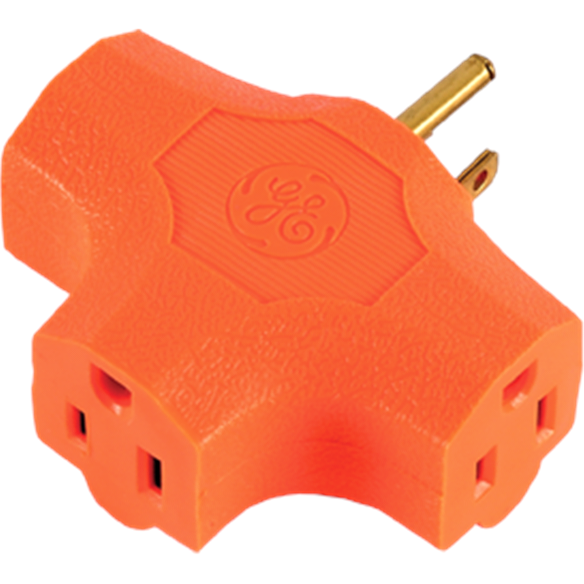 slide 3 of 3, GE Heavy Duty 3-Outlet Adapter,