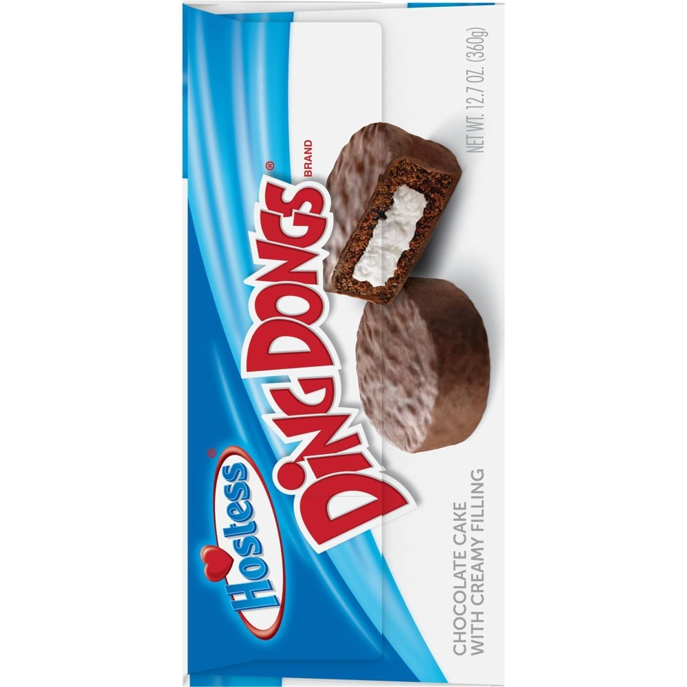 slide 7 of 10, Hostess Ding Dongs,