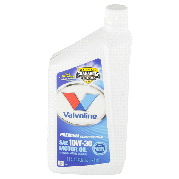 slide 1 of 2, Valvoline 10W-30 SAE Motor Oil,