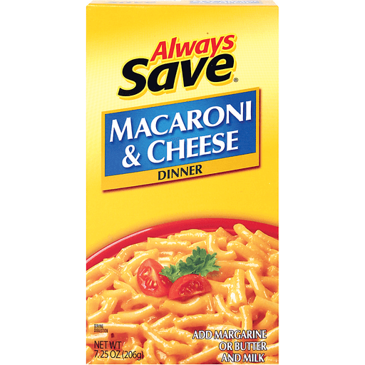 slide 1 of 1, Always Save Macaroni & Cheese Dinner,