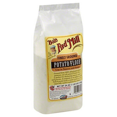 slide 1 of 9, Bob's Red Mill Finely Ground Potato Flour,